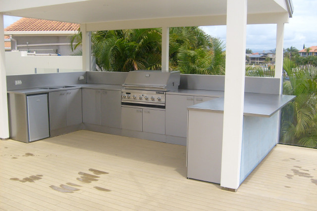 marine grade stainless outdoor bbq and kitchen